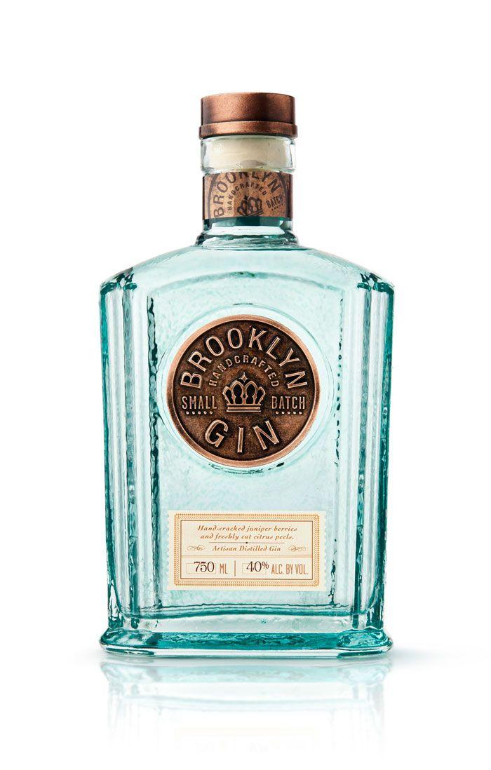 Brooklyn Gin | #packaging #bottledesign #gin