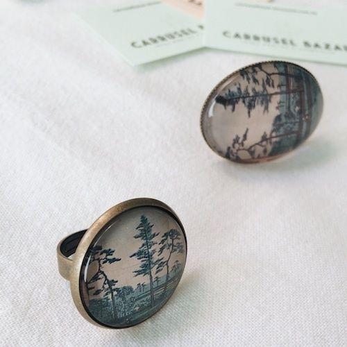 Mori Carrusel Bazar Jewelry Design Cufflinks Handmade