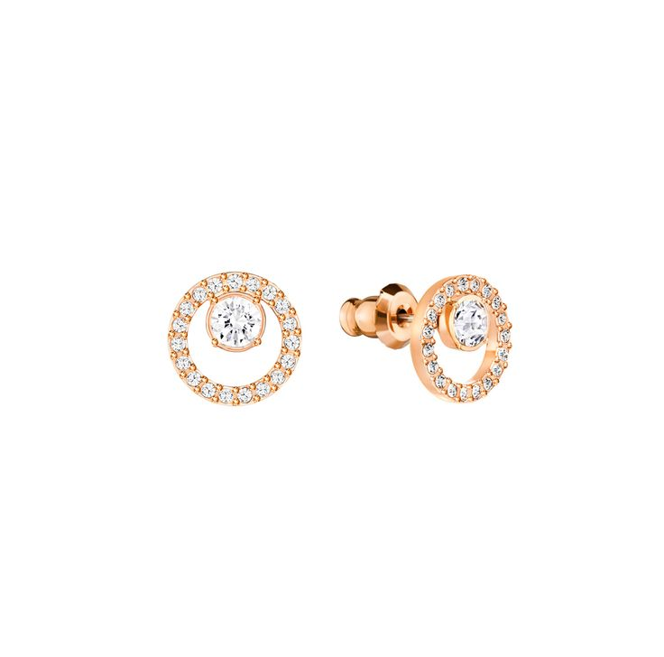 "Swarovski ""CREATIVITY"" Earrings  #Earrings #RoseGold #Crystals #SpringSummer2016 #JewelleryDesigner #Swarovski #Jewelry"