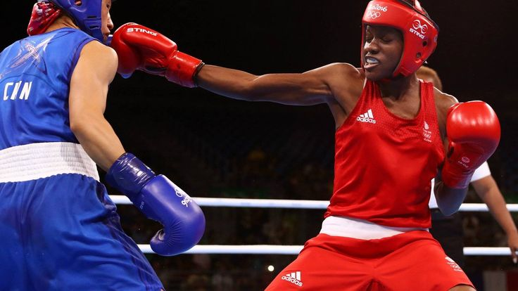 Nicola Adams of Team GB boxing at Rio 2016
