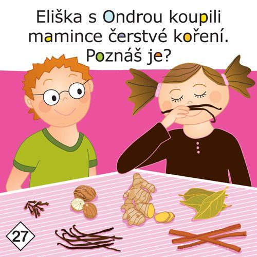 Eliška s Ondrou koupili mamince čerstvé koření. Poznáš je?