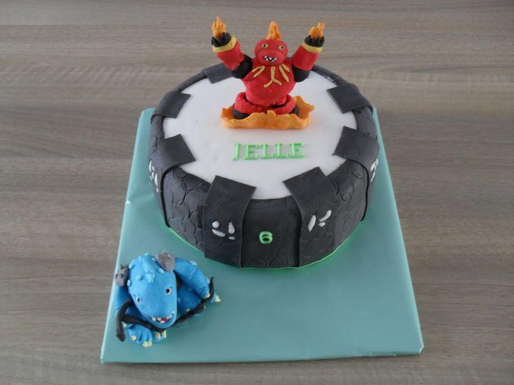 Skylanders Portal taart/ cake