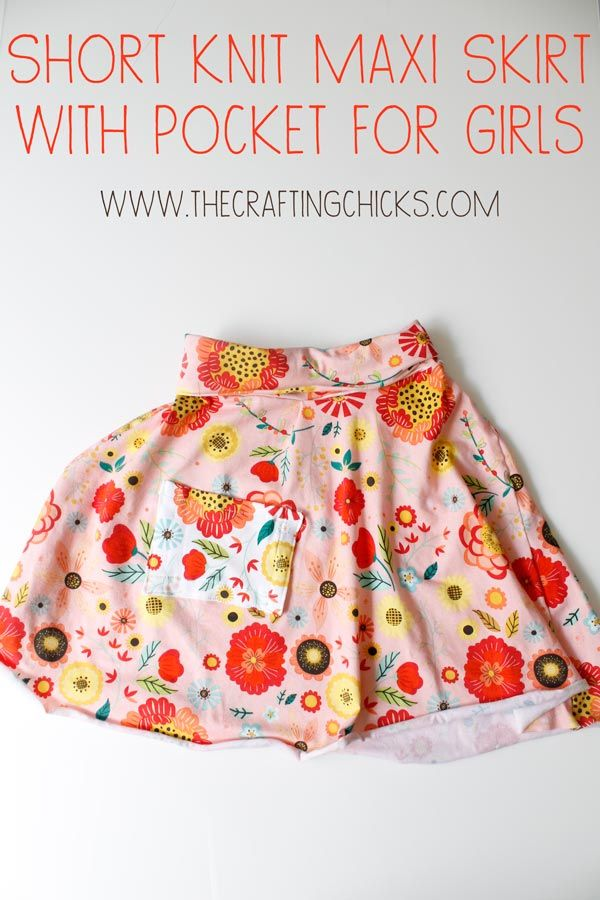 Short Maxi Skirt with Pocket for Girls Sunday, July 26, 2015 By Becky Leave a Comment Short Maxi Skirt with Pocket for Girls
