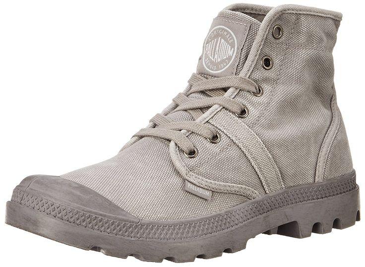 AmazonSmile: Palladium Men's Pallabrouse Chukka Boot, Titanium/High-Rise, 10 M US: Shoes