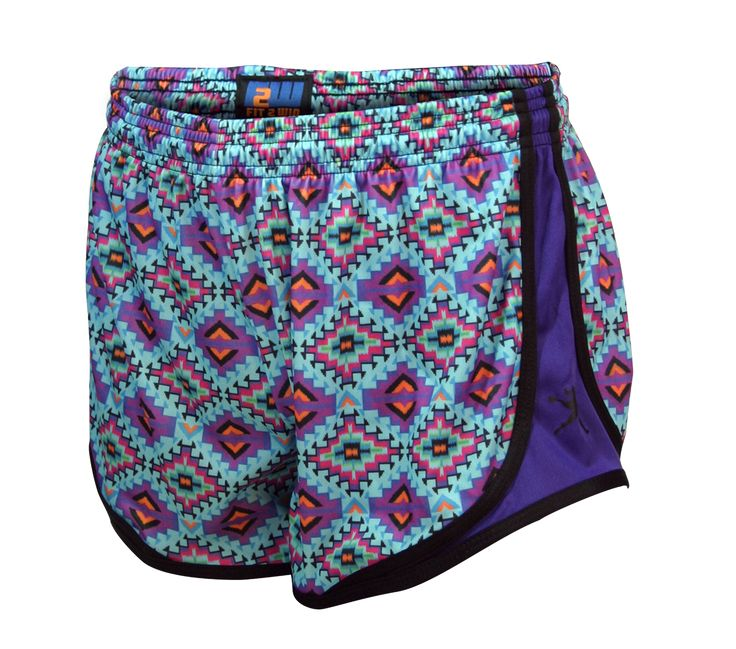 Girls Lacrosse Sprinter Shorts - Aztec Great for practice or just hanging around with friends.