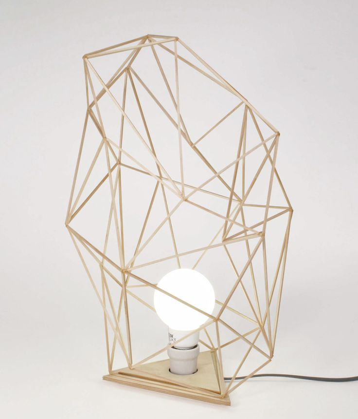 geometric lamp.