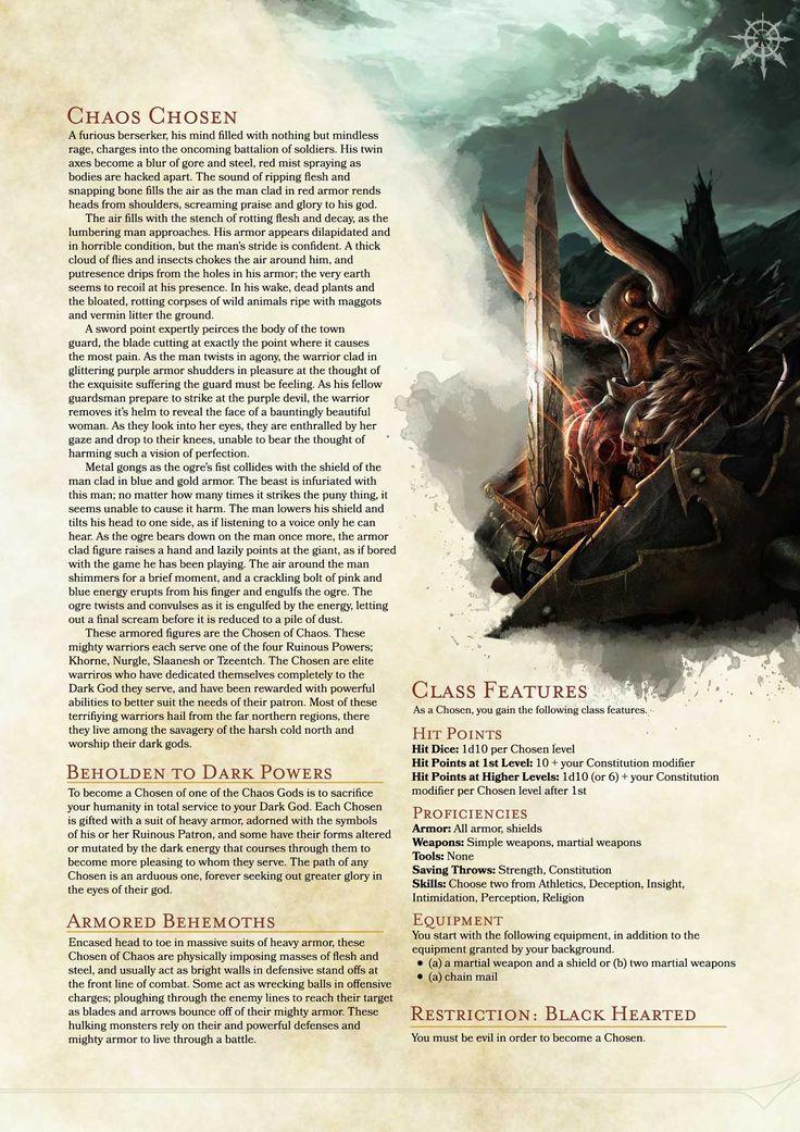 Dnd Wiki Classes - Gaius Ludus: 5e D&D tweaks - core character