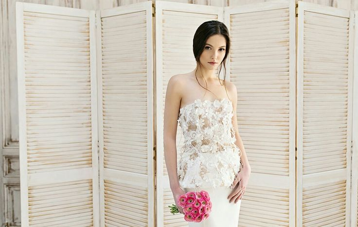 Simona Semen  Wedding dress Bride  Lace wedding dress