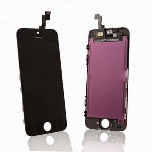 sGsm: Ecran LCD Display Complet Apple iPhone 5s Negru