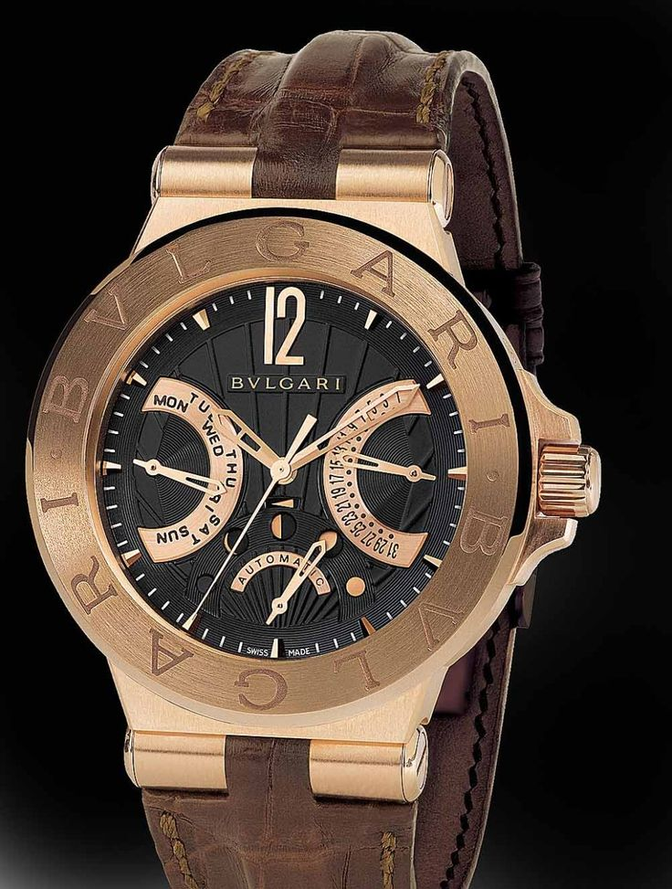 Tag Watches For Sale >> Bulgari Diagono (Iron Man) | Watches | Bvlgari watches, Watches for men, Luxury watches for men