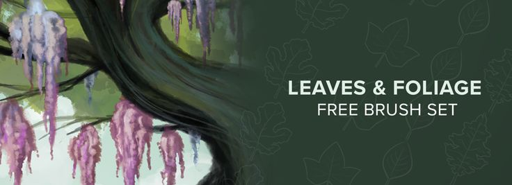 Leaves & Foliage Free Brush Set | Now Available with Autodesk SketchBook App on Desktop, iOS App Store & Android's Google Play | #Autodesk #Sketchbook #BrushSet #VisualArts #Creativity #Artist #DesktopApp #iOS #Android #AppStore #GooglePlay
