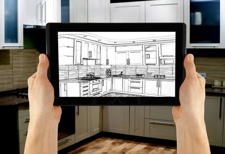 Free Interior design software on a tablet and paid interior design software