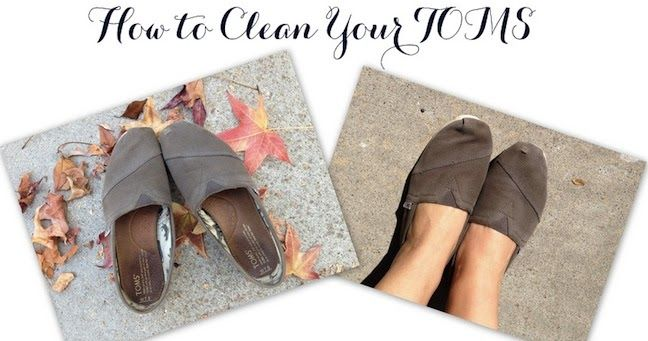 Linen, Lace, & Love: How To Clean Your TOMS