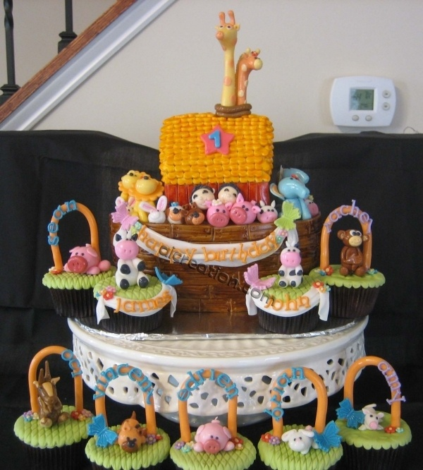 116 Best Images About Noah's Ark Party Ideas On Pinterest