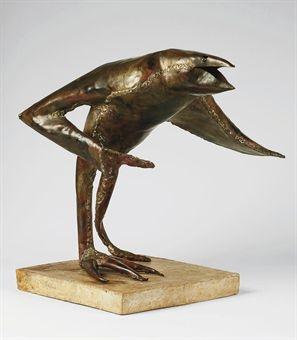 Bird - Reinhoud D'Haese (BELGIAN, 1928-2007)