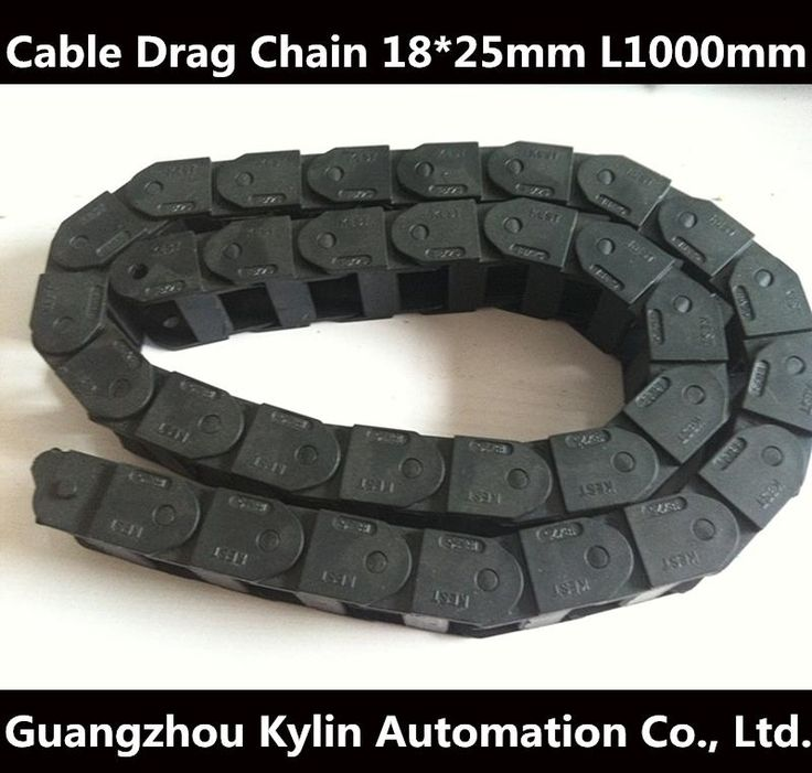 300.00$  Watch here - http://alilfm.worldwells.pw/go.php?t=32440252121 - 20 pcs 18 x 25 mm L1000mm Cable Drag Chain Wire Carrier with end connectors for CNC Router Machine Tools