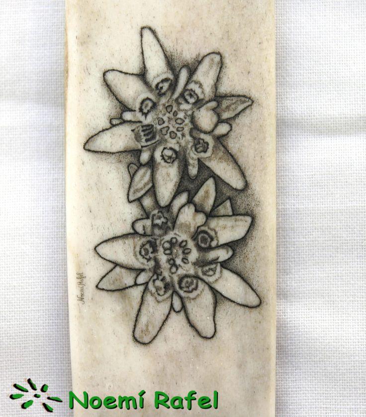 scrimshaw talla en marfil