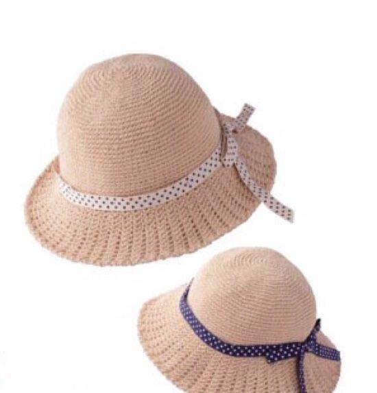 여름 모자 만들기^^* 여름엔 선글라스만큼 시원한 여름모자가 더위를 비켜가게 해줘용^^ 왕골느낌의 실로 ...
