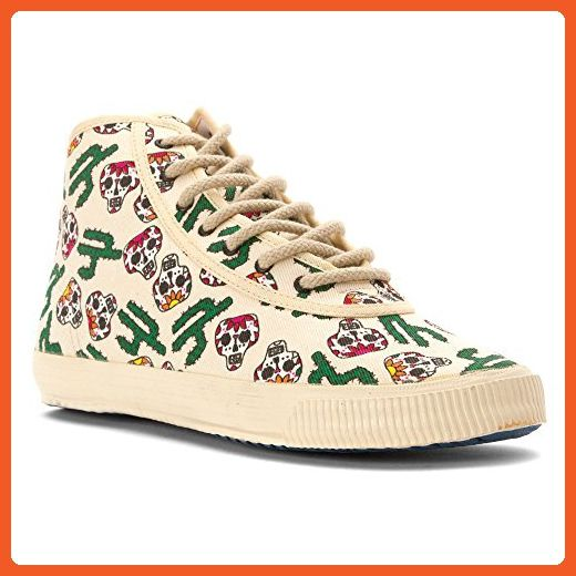 Startas Women's Viva Mexico High Top Red/Green Multi 41 EU - Sneakers for  women