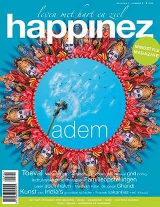 Happinez 2004 - 2  Adem Interview Mansukh Patel - Costa Rica, thuiskomen in de jungle - Neale Donald Walsh - Toeval als routeplanner - Familieopstellingen.