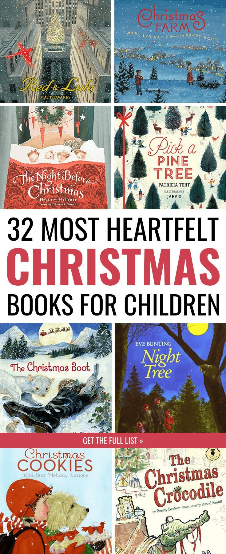 The Ultimate List Of The Best Christmas Books For Kids Christmas Books For Kids Christmas Books Best Christmas Books