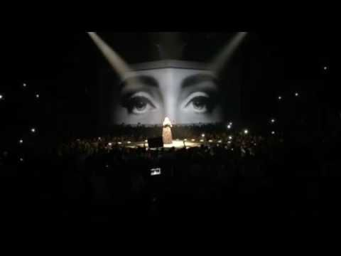 Adele Concert 2016 Montreal October 1 - YouTube