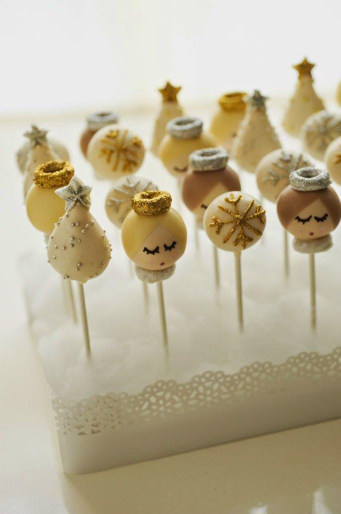 Christmas Cake Pop Ideas Pinterest : 17 Best images about cake pops on Pinterest Summer cakes ...