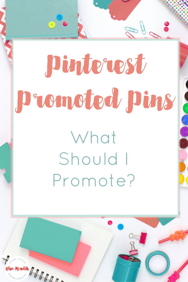 What should you promote in you Pinterest Promoted Pin Campaign? You could promote products that sell well, landing pages that convert, but don't overlook blog posts and other pages. Here's how to pick your best converters!  via @alisammeredith
