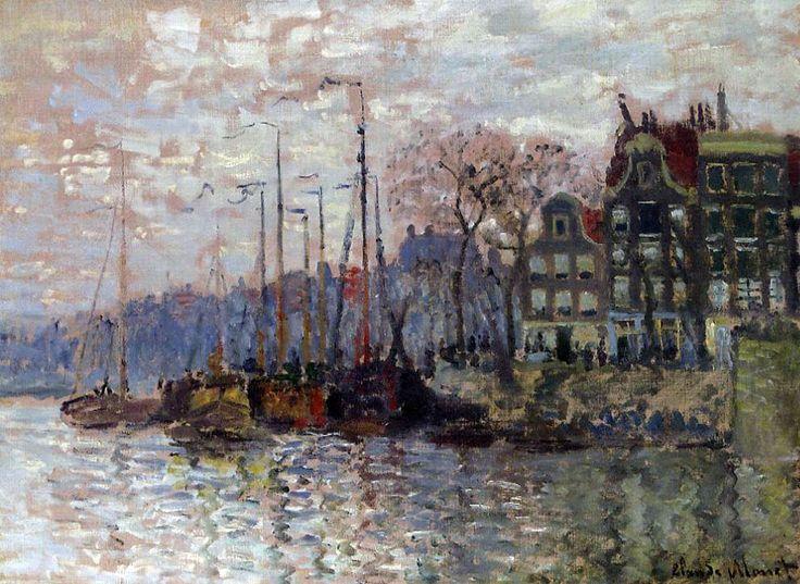 Amsterdam by Claude Monet