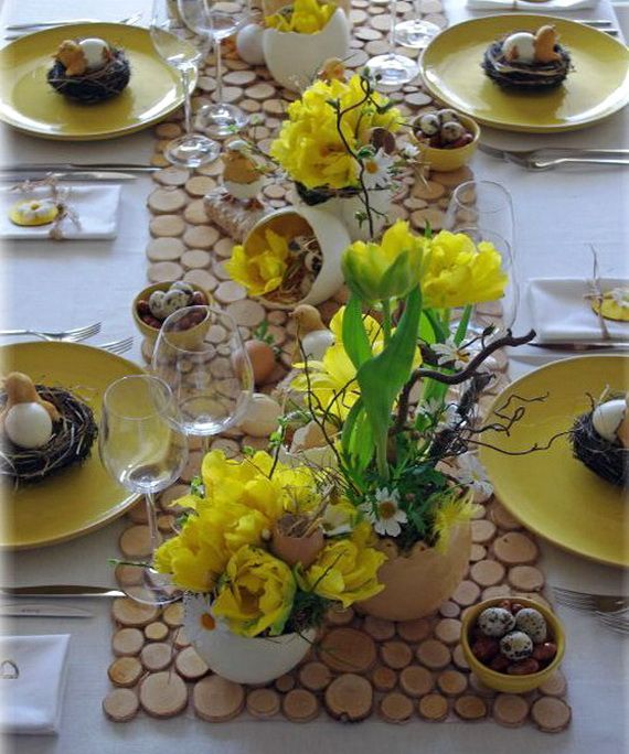 The Decoration Is An Important Element For A Successful Easter. Create A  Festive Atmosphere, By Making Beautiful Easter Table Decoration.