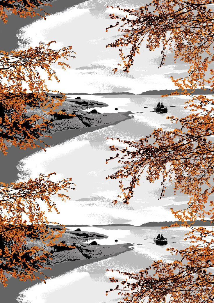 Virolahti (orange) - By Riina Kuikka