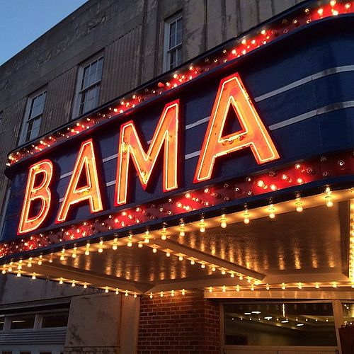 Bama Theater Tuscaloosa Alabama