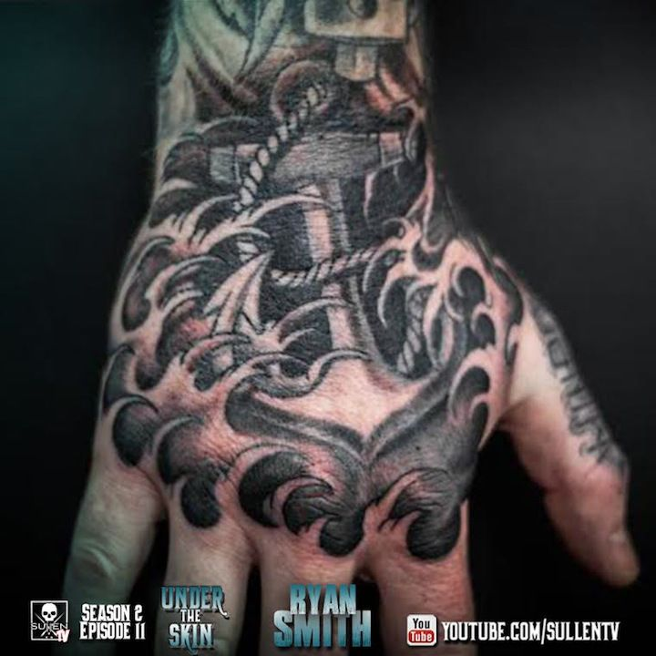 231 best anchor tattoos images on pinterest anchor for Under the skin tattoo