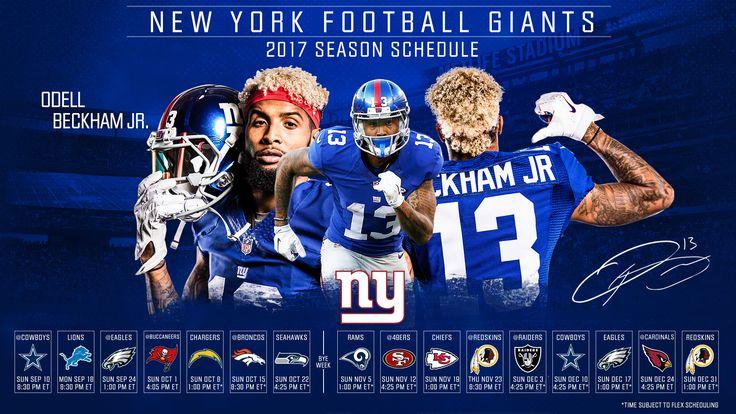 2017 NFL Season Schedules Giants Wallpaper - Live Wallpaper HD