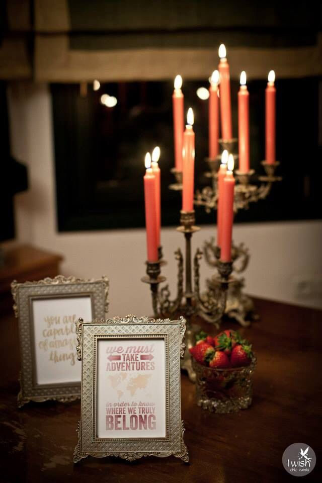 Quotes and candles!  photo @giannis karabagias