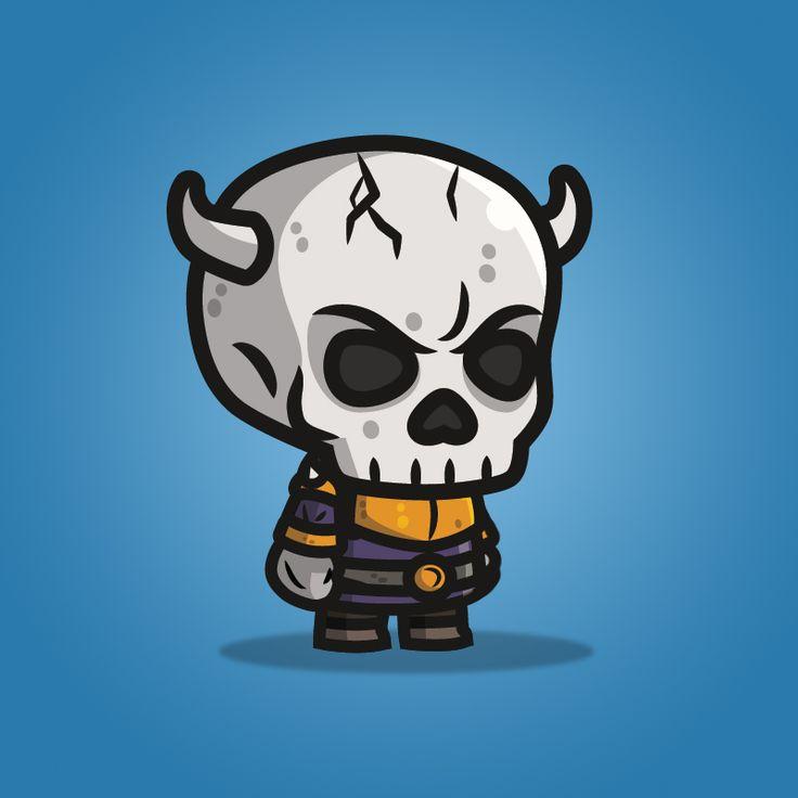 Evil Skull Knight