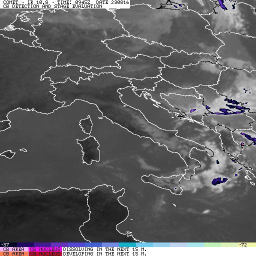 Search a product   PROMETEO2 - Servizio Meteorologico Aeronautica Militare