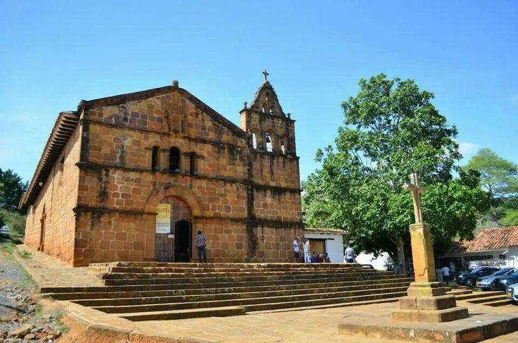 Antigua iglesia Barichara