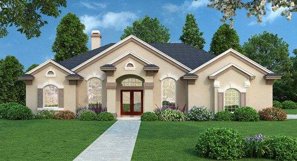The Bedford House Plan is an affordable, well designed home that is easy to build. View additional photographs and the floor plan to this contemporary design by clicking here: http://www.thehousedesigners.com/plan/bedford-3994/