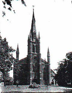 L'Assumption du Detroit, Church of the Assumption, Sandwich, Ontario c. 1910 the history of this parish is unique, dating back to the year 1767 & being in its earlier days under the jurisdiction of the Bishops of Quebec. Until the year 1803 the parish was called The Assumption of Point de Montreal or A L'Assumption du Detroit.