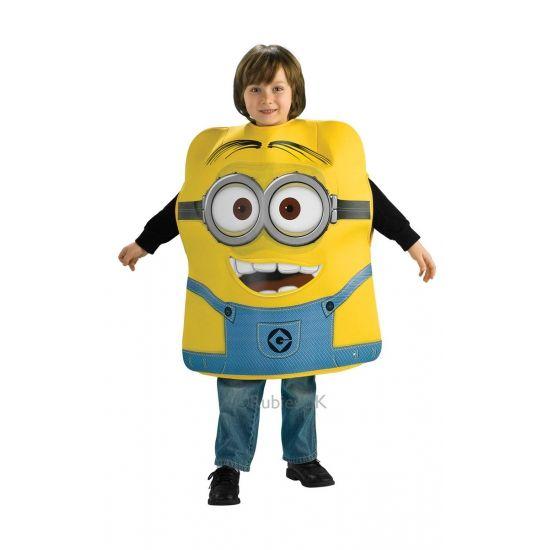 Despicable Me Minion kostuum voor kinderen. Ga verkleed als een Minion uit Verschrikkelijke Ikke! Dit te gekke foam kostuum is geschikt voor kinderen.