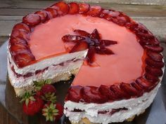 Epres túrótorta - sütés nélküli - MindenegybenBlog