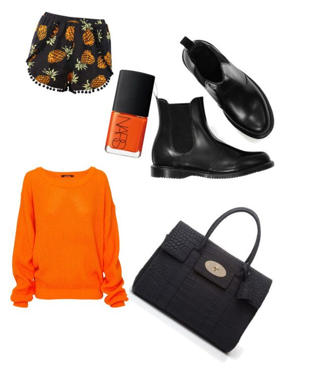 Hot spring sunsets ⛅️ by tymarahshand on Polyvore featuring polyvore, fashion, style, Mulberry, NARS Cosmetics and clothing