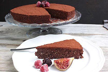 Schokoladenkuchen - glutenfrei, zuckerfrei, ein tolles Rezept aus der Kategorie Backen. Bewertungen: 5. Durchschnitt: Ø 4,1.