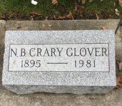 Born in 1895 and died in 1981 Archbold, Ohio N. B. Crary Glover