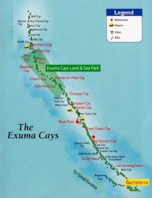 exuma bahamas | The Exumas is an Out Island of the Bahamas with the main village of ... my next vacation