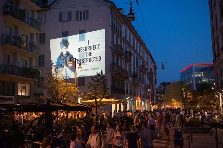 #dieselreboot is everywhere http://dieselreboot.tumblr.com #largolafoppa #milan