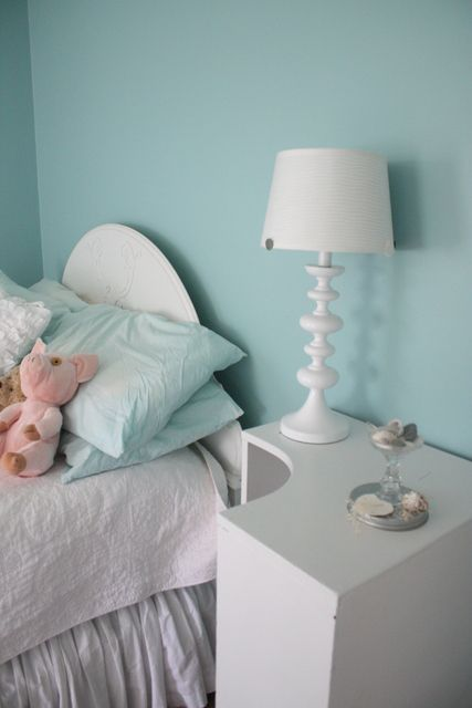 {Interior Paint} Sherwin Williams Jetstream. A not-so-obnoxious turquoise.