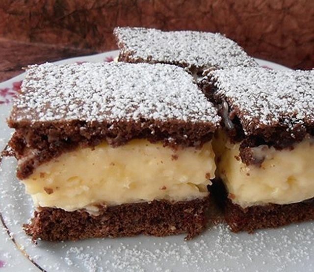 Tejfölös csodasüti, az egyik legolcsóbb krémes sütemény - www.kiskegyed.hu