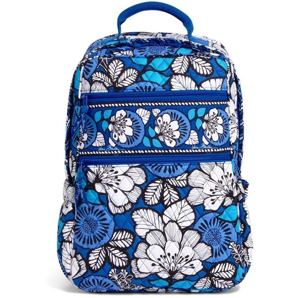Vera Bradley Tech Backpack in Blue Bayou ($92) ❤ liked on Polyvore featuring bags, backpacks, backpack, blue bayou, blue bag, vera bradley, backpack laptop bag, pocket backpack and tablet bag